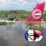 Avión ligero cae en brazo del  río Magdalena en Soledad